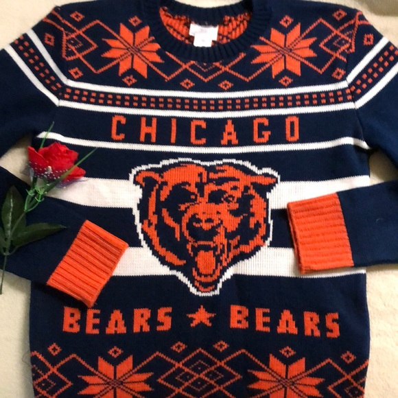 on sale 77a81 45f83 Vintage Chicago Bears Sweater